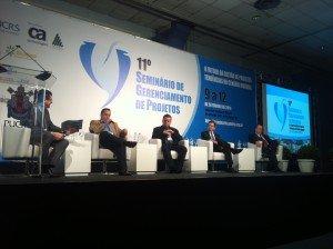 Roberto Coelho (Dell),  Luiz Ramos (RBS),  Paulino Rodrigues (Sicredi),  Cristian Mairesse Cavalheiro (GetNet) e Robinson Oscar Klein (ASSESPRO)