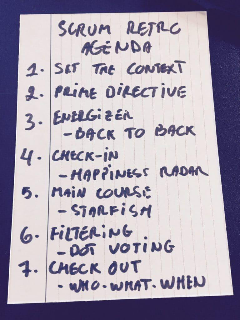 a 7-step agenda for effective retrospectives