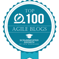 Top 100 Agile Blogs Badge