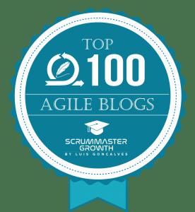 Top 100 Agile Blogs Badge