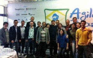 organizadores da AgileBrazil 2012